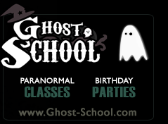 GHOST SCHOOL :: Experience the Paranormal! Paranormal Investigation Classes for Kids (& Grown Ups too!) Birthday Parties, School Classrooms and more! With Stephanie Lechniak, Founder of Haunted Hamilton & Principal of Ghost School